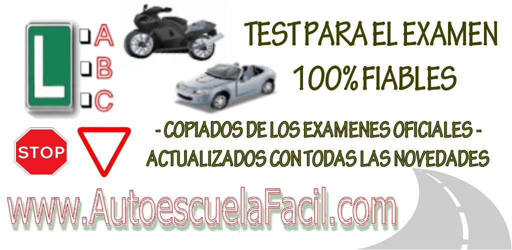 AutoescuelaFacil test de examen de conducir para Android