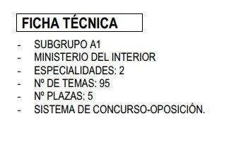 Oposiciones a la escala superior de t cnicos de tr fico 2013 - Ministerio del interior oposiciones ...