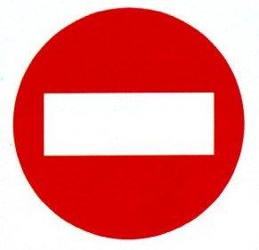 r 101 entrada prohibida